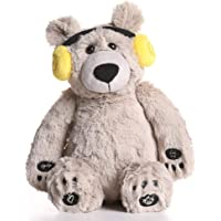 Lulla Bear Shusher by Alex & Kate - Mom's Heartbeat Sound, White Noise, and Lullabies - Portable Toddler Sleep Aid Toy…