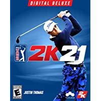 PGA Tour 2K21 Deluxe - PC [Online Game Code]