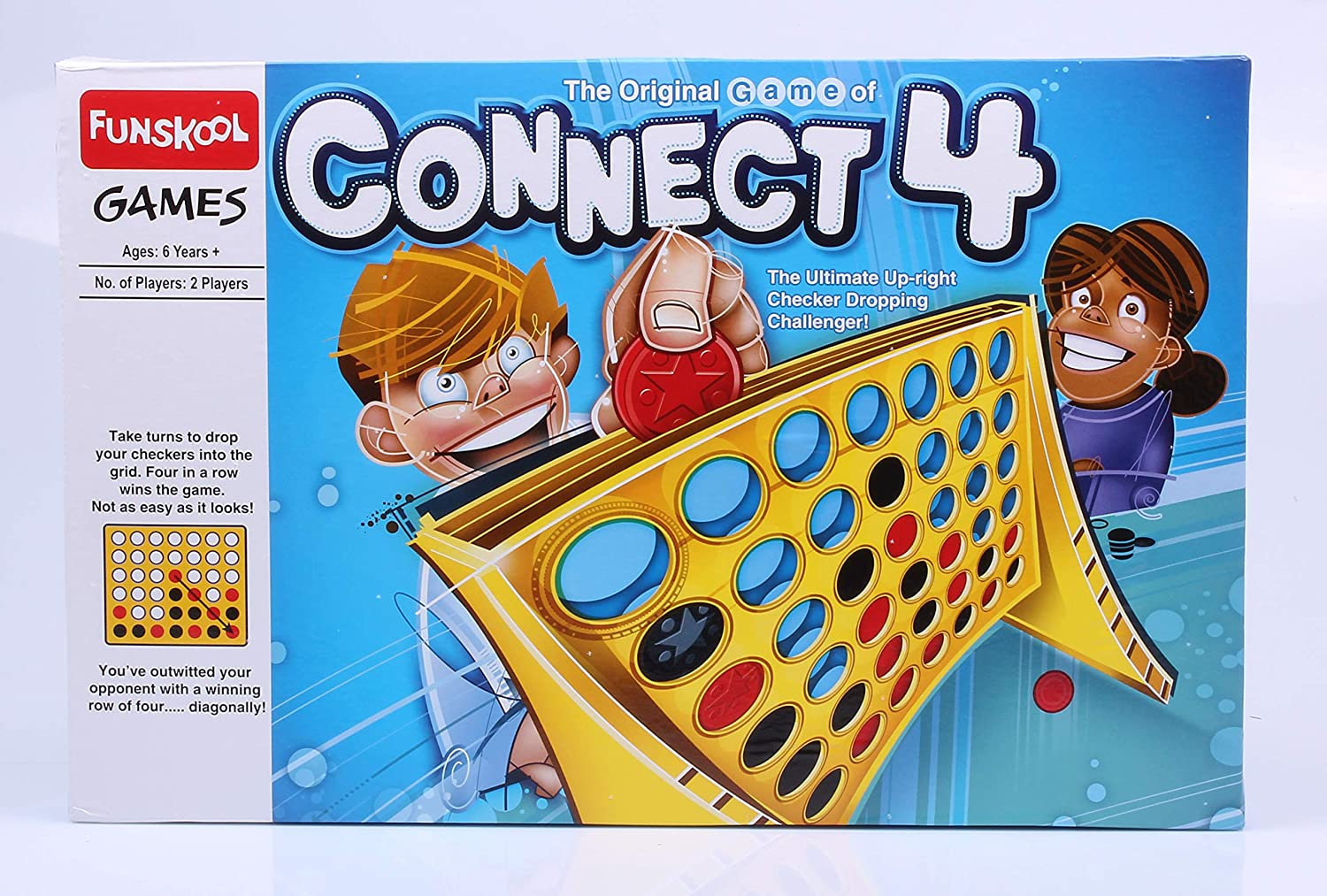 Board Game The Original Hasbro Connect 4 For 2 Players ...