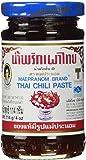 Mae Pranom Thai Chili Paste (Nam Prik Pao) 4 Oz. X 1 Jars