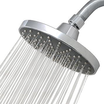 Luxe Rainluxe Shower Head Round High Pressure High Flow Showerhead
