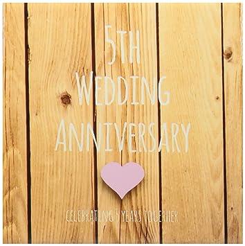 3drose Ct 154433 3 5 Hochzeitstag Geschenk Holz 5 Jahre