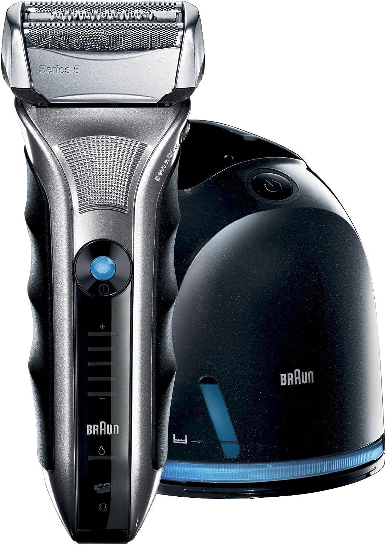 Braun 590cc - Afeitadora (Máquina de afeitar de láminas, Negro ...