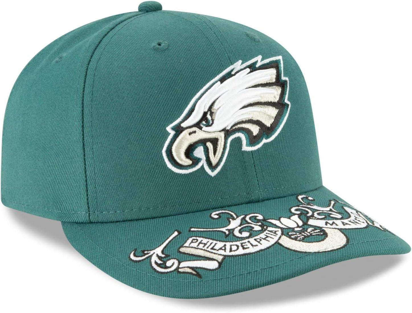 Draft on-Stage Philadelphia Eagles New Era 59Fifty LP Cap