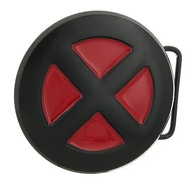 Amazon Marvel X Men Blackred Belt Buckle Clothing