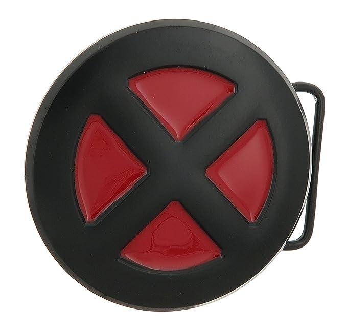 Marvel X Men Blackred Belt Buckle Amazon Clothing Accessories