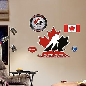 Fathead 99 00008 Wall Decal, Team Canada Logo, Fathead Part 31