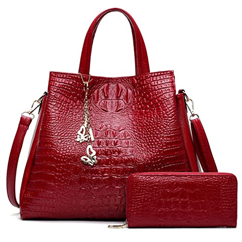 5393a3cca67 Amazon.com: Toping Fine PU Leather Big Shoulder Bags NEW Brand Women ...