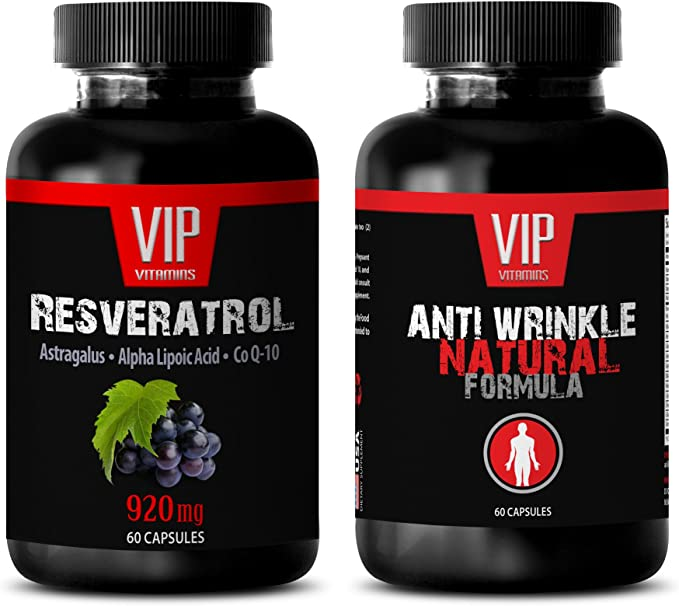 Amazon Com Antioxidant Extreme Resveratrol Anti Wrinkle