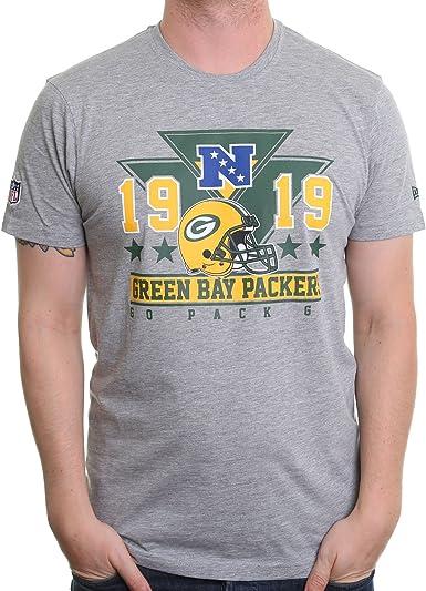 New Era NFL Triangle tee Green Bay Packers Camiseta, Hombre ...