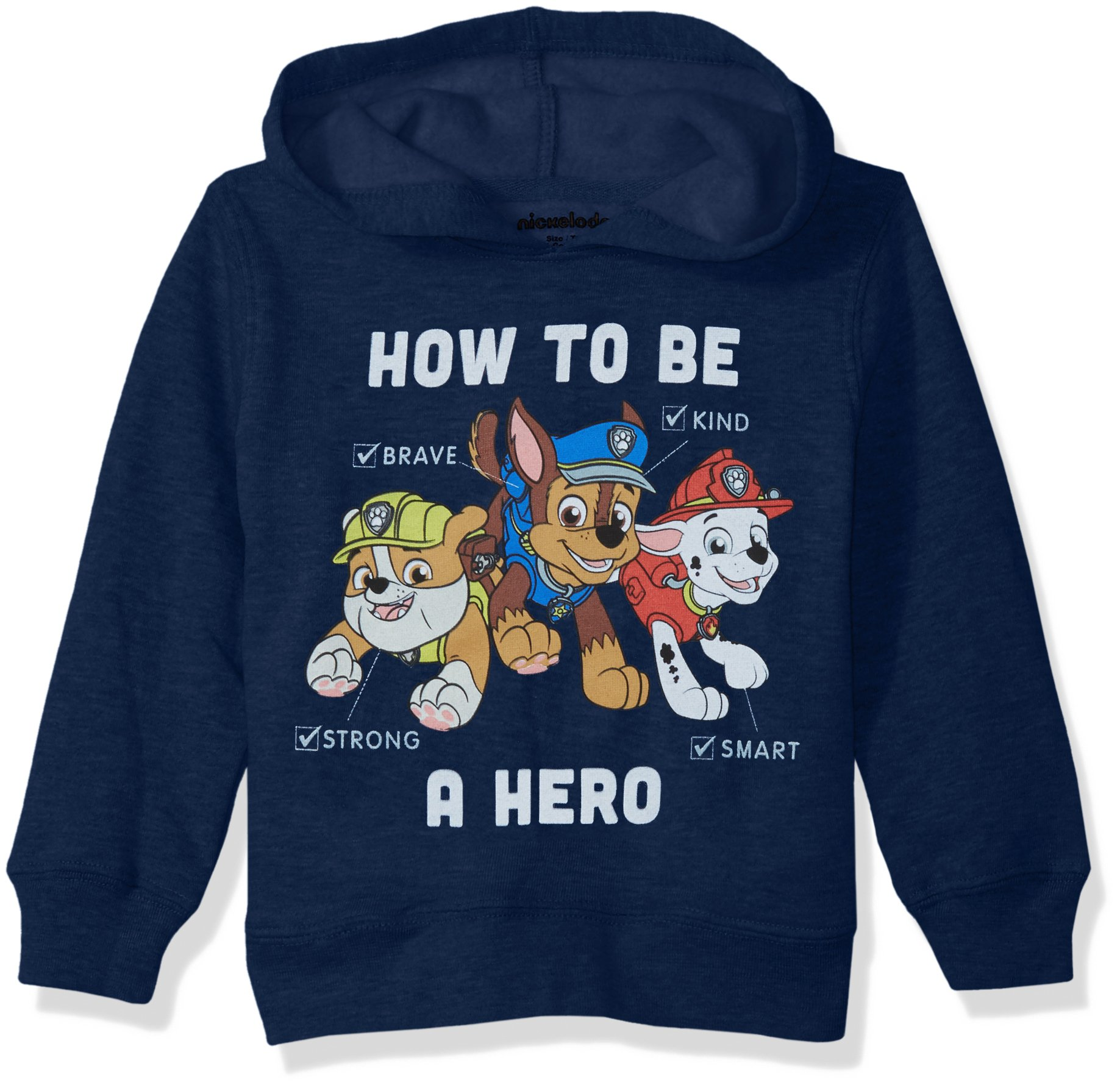 Nickelodeon Boys' Toddler Paw Patrol Pullover Fleece Hero, 3T