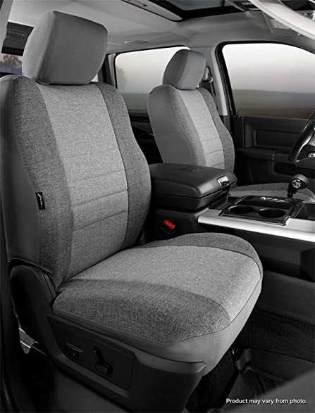 Amazon.com: Fia OE39-12 GRAY Custom Fit Front Seat Cover Bucket ...