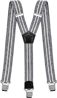 96869d4a24636 Decalen Bretelles pour Hommes et Femmes Une Taille Convient Tous Les Clips  Forts Style Y Diverses