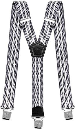 Bretelles pour Hommes et Femmes Une Taille Convient Tous Les Clips Forts  Style Y Diverses Couleurs a8c41cafe2f9