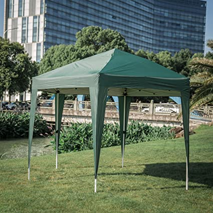 Charmant Kinbor 11.8u0027 X 10.2u0027 Outdoor Canopy Heavy Duty Patio Tent Hexagon Foldable  Portable Pop