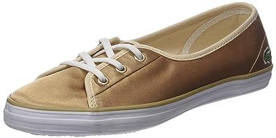 Lacoste Damen Ziane Chunky 118 2 Caw Sneaker, Gold (or Gld/WHT), 38 EU