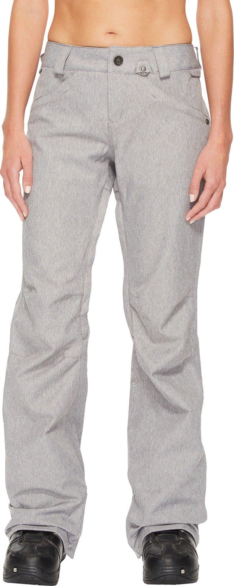 Volcom Snow Women's Species Stretch Pants Heather Grey XX-Small