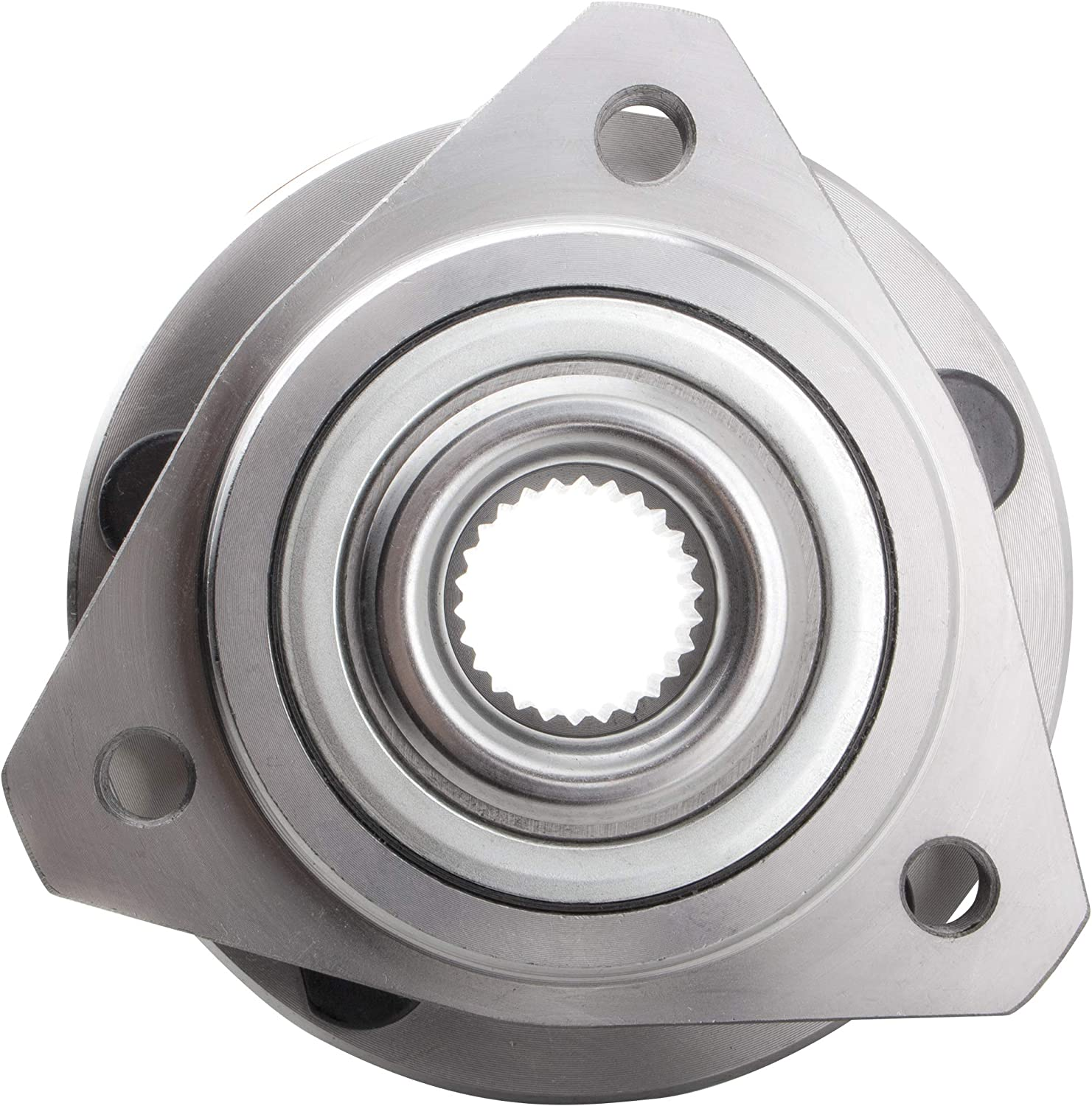 BOXI Front Wheel Hub and Bearing Assembly for 1995-2000 Chrysl-er Cirrus /1996-2006 Chrysl-er Sebring 06 Dodge Stratus /1996-2000 Plymouth Breeze (5 lugs wheel hubs without ABS) 513138