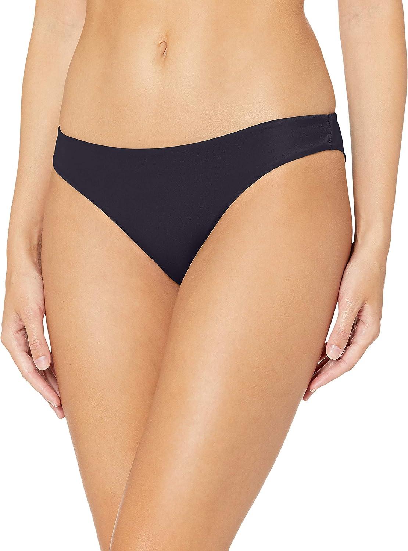 RVCA Womens Solid Cheeky Bikini Bottoms