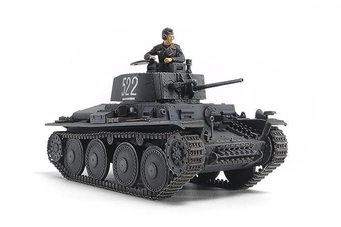 3 opinioni per Tamiya- Modellino carro armato Seconda guerra mondiale, versione E/F 38t, scala