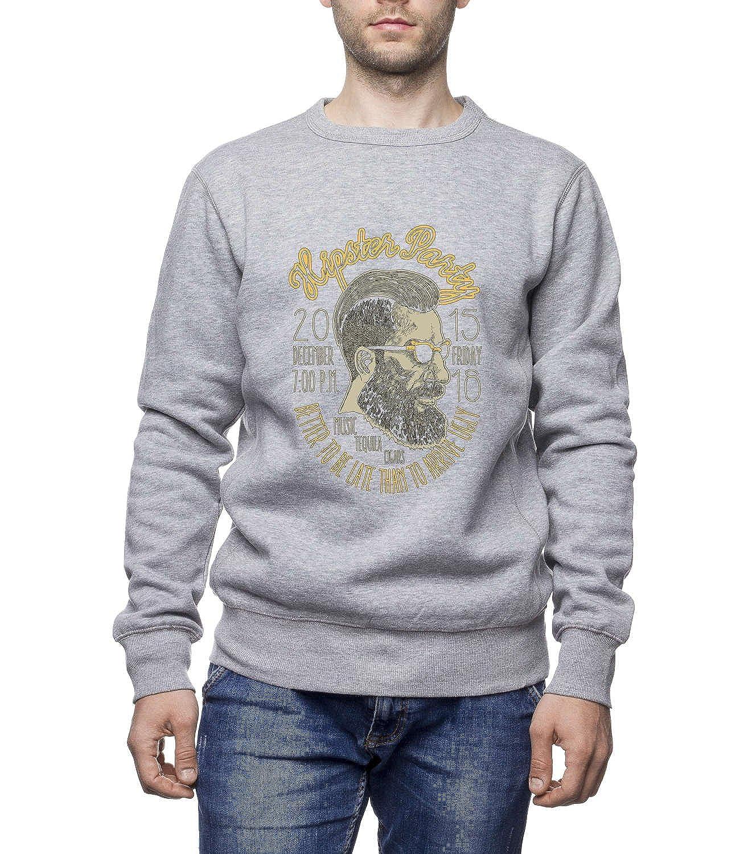 Three Monkeys - Hipster Party Men'S Unisex Sweatshirt