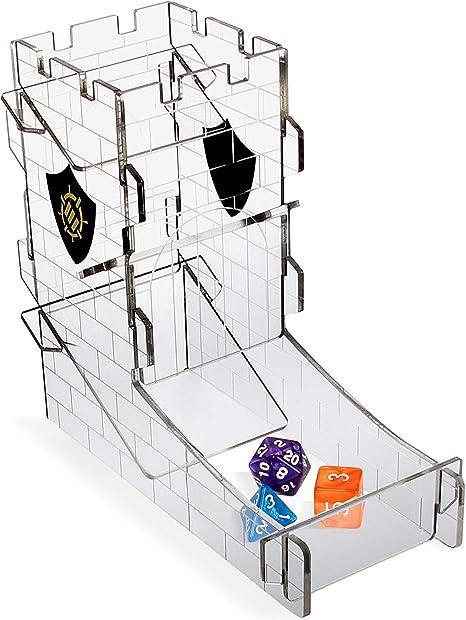 ENHANCE Torre de Dados, Bandeja para Juegos de Rol de Mesa: Amazon ...