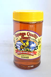 product image for Topanga Quality Honey (Clover Floral Source) Raw, Unfiltered, Unpasturized, Best Quality, All Natural, Kosher - 1 Pound Each