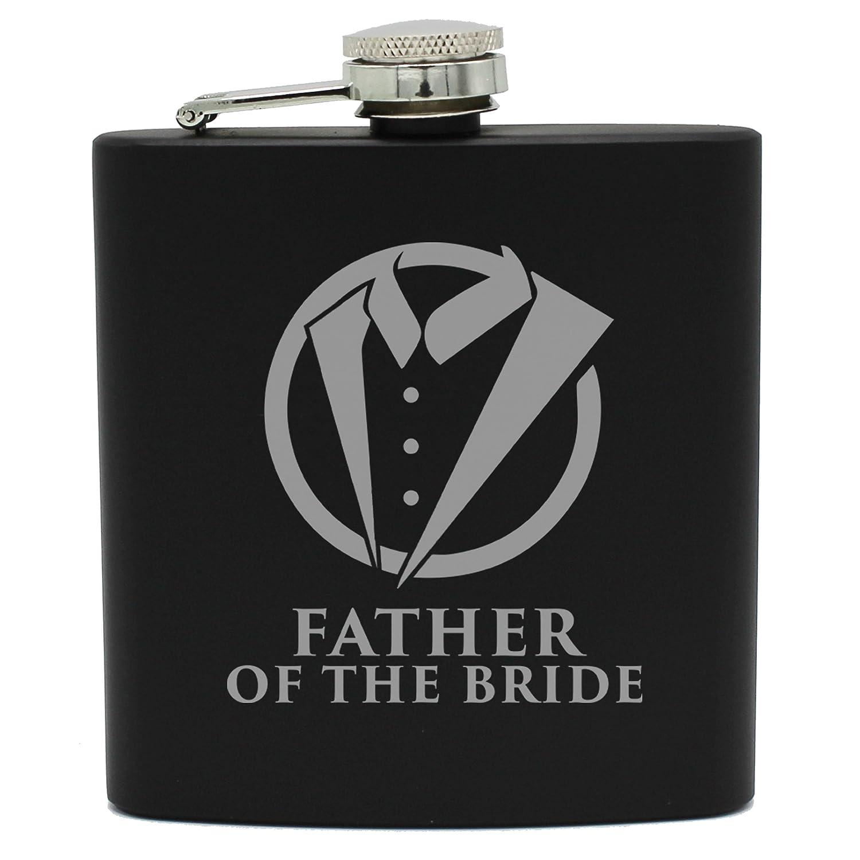 今季一番 タキシードヒップブラックフラスコfor Groomsmen the Flask、Best Man Bride,、花婿 Father of the Bride, 6oz Flask Only ブラック MPM0369F Father of the Bride, 6oz Flask Only B07F3F4GBB, 数量限定処分専門店TOBE屋本舗:3b5b5e04 --- a0267596.xsph.ru