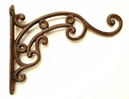 Panacea Products 6-Inch Antique Bracket Scrolls Bronze