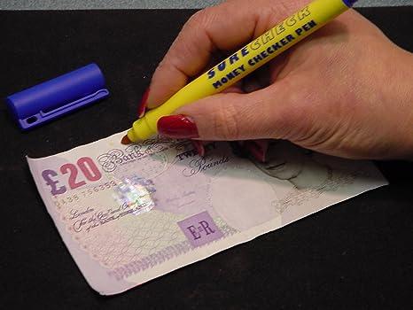 Lápiz Detector billetes falsos, Lampo activista pluma solo