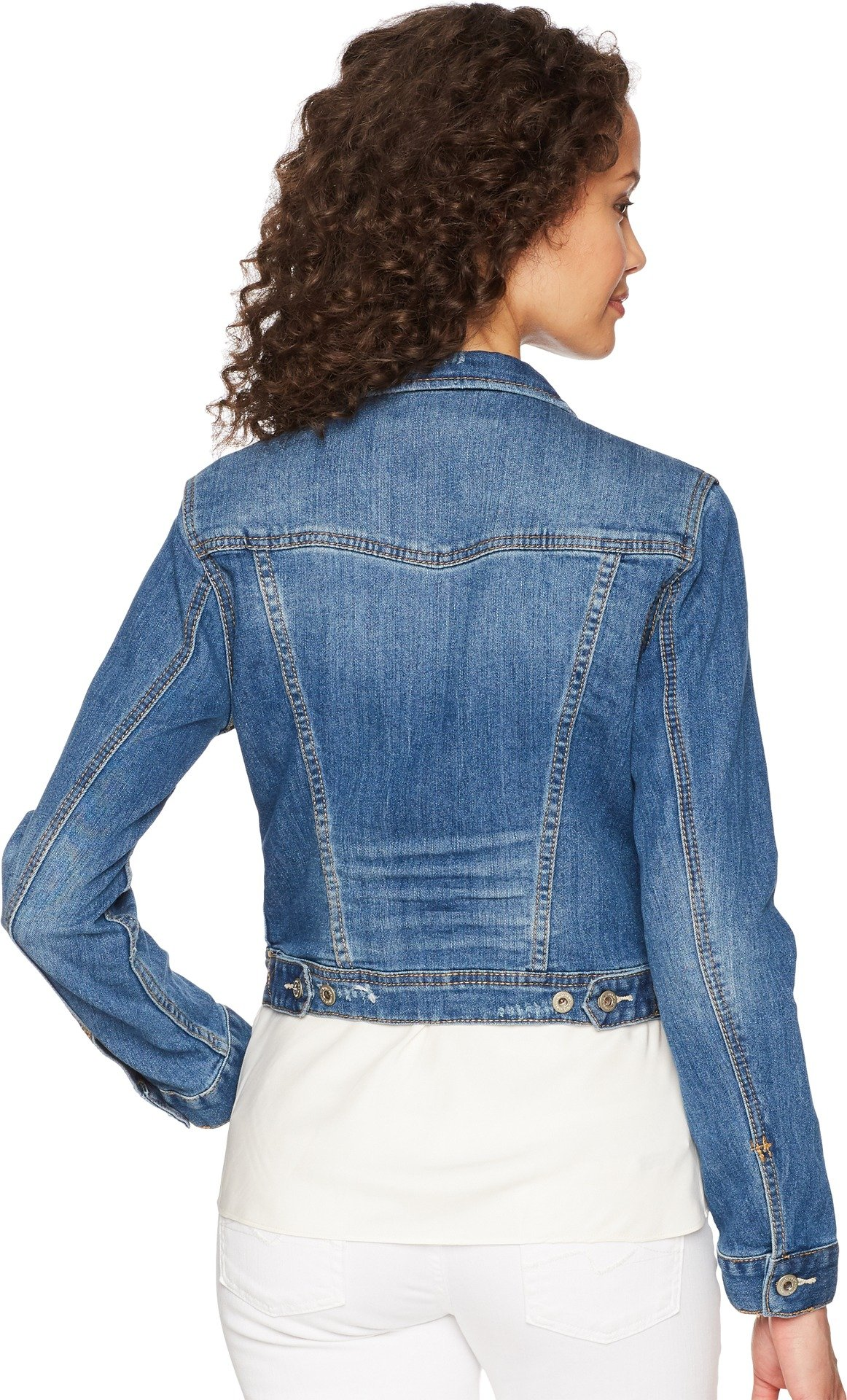 UNIONBAY Women's Lucas Denim Jacket, Cove, Medium by UNIONBAY (Image #3)