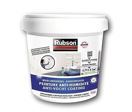 3 opinioni per Rubson- Stop all'umidità per muri cantina, secchio da 0,75 L, colore: Bianco