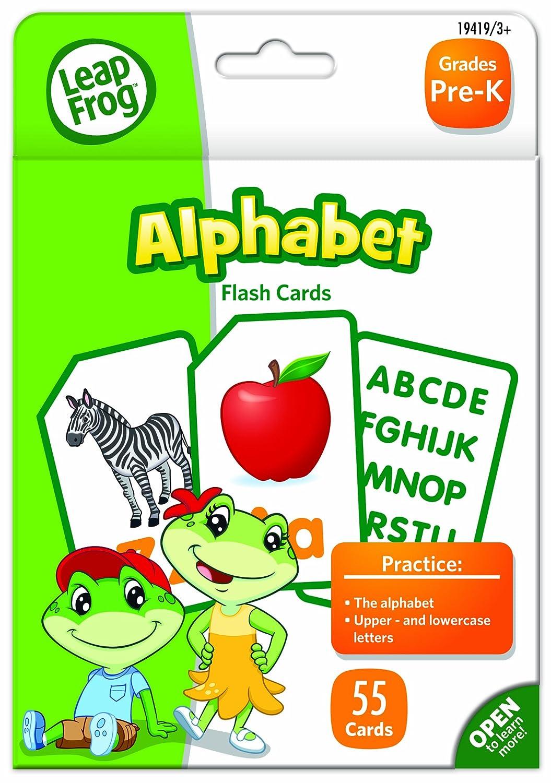 Amazon.com: LeapFrog Alphabet Flash Cards for Grades Pre-K Pack of ...