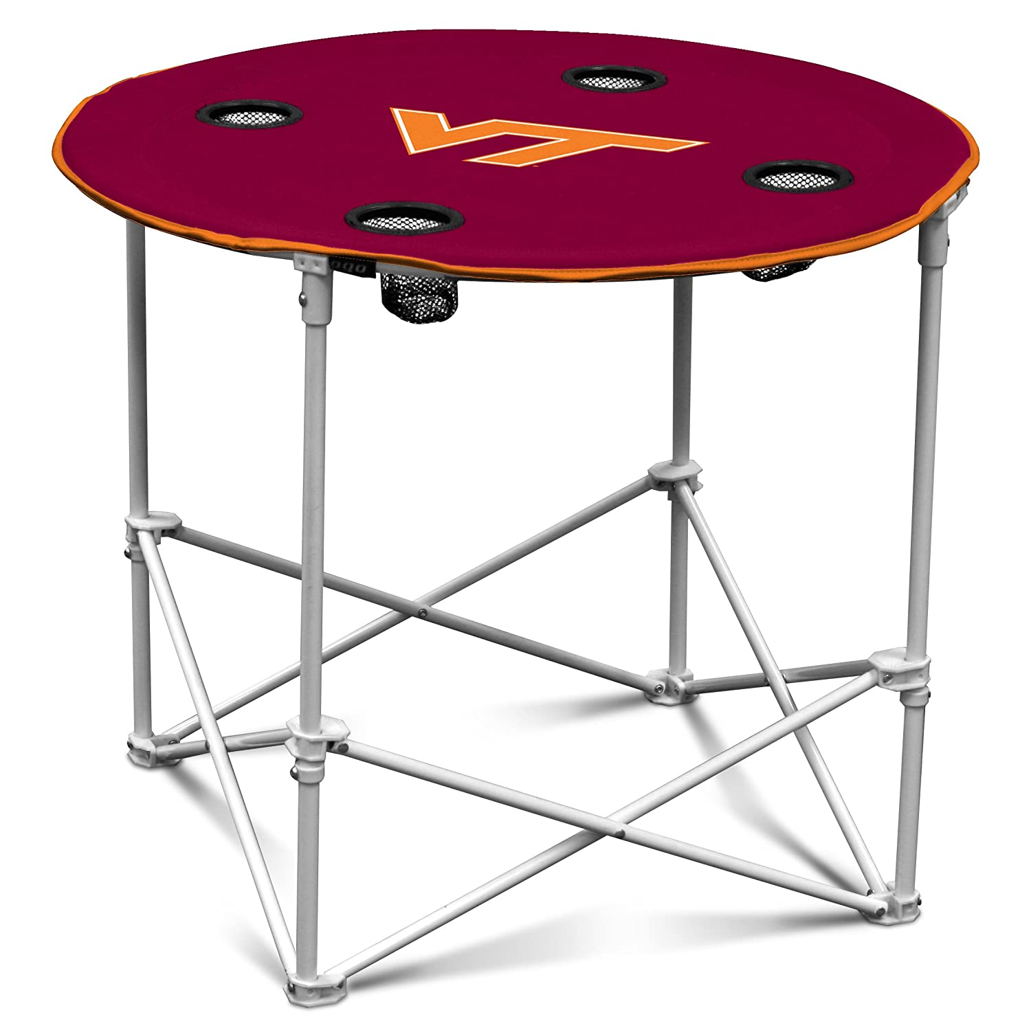 Amazon.com : Arizona State Sun Devils Collapsible Round Table With 4 Cup  Holders And Carry Bag : Sports Fan Tables : Sports U0026 Outdoors