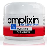 Amplixin Hydrating Deep Conditioner Hair Mask With Coconut & Argan Oil For Dry & Damaged Hair - 8oz