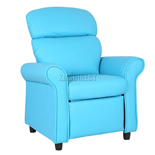 FoxHunter Kids Recliner Armchair Games Chair Boys Girls Sofa Children Seat In PU Leather KSP01 Blue  sc 1 st  Amazon UK & FoxHunter Kids Recliner Armchair Games Chair Boys Girls Sofa ... islam-shia.org