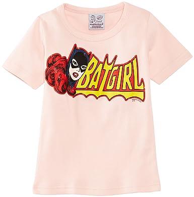 b062e9a7422 Logoshirt Girl s Kids Batman Batgirl T-Shirt  Amazon.co.uk  Clothing