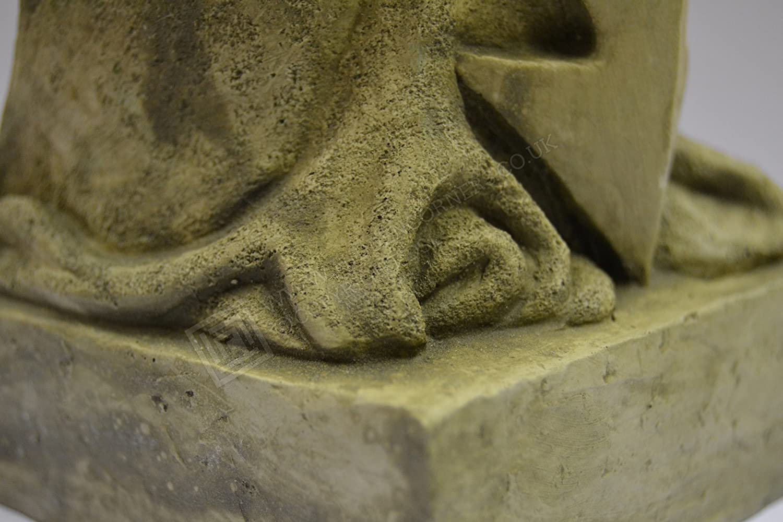 Jake-Garden Ornament-Gargoyle-Sculpture Stone Statue-Home Patio-Decorative Gift