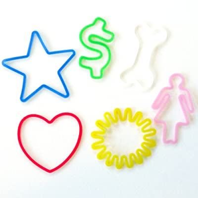 Silly Bandz Fun Shapes - 24 Pack: Toys & Games