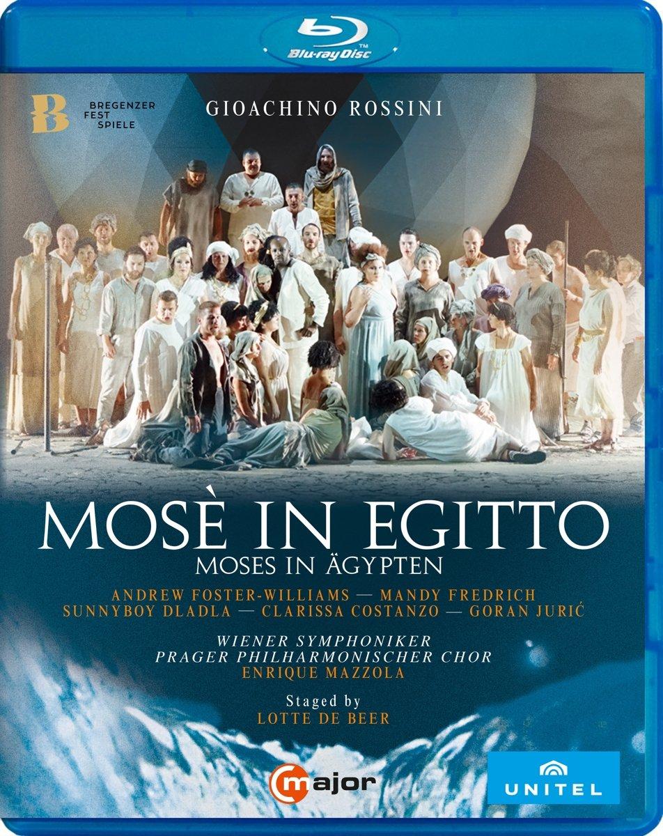 Blu-ray : Mose In Egitto (Blu-ray)