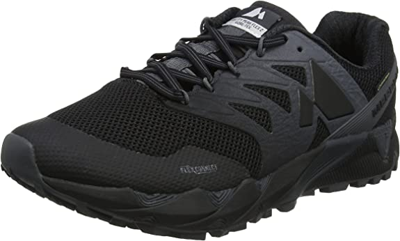 Merrell Agility Peak Flex 2 GTX, Zapatillas de Running para Asfalto para Hombre, Negro (Black), 42 EU: Amazon.es: Zapatos y complementos