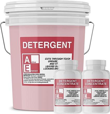 Amazon.com: Detergente comercial para lavaplatos, un cubo de ...