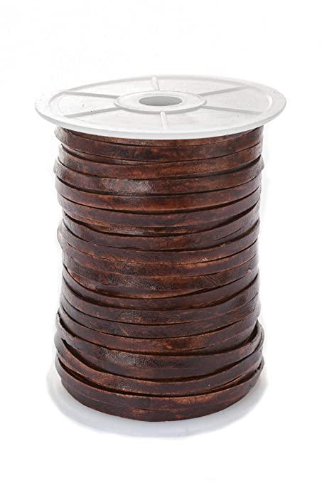 5 mm 2,5 4 1,5 2 Lederband Lederbänder rund Ø 1 3 Antik Farben