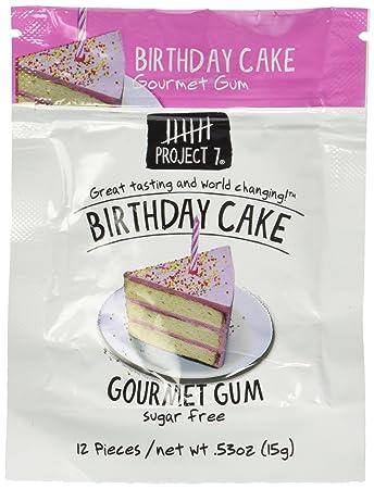 Amazon Project 7 Gum Birthday Cake 053 Oz Grocery
