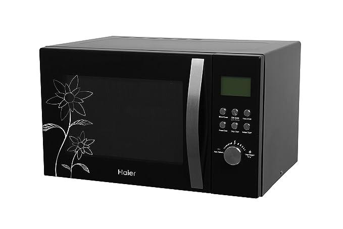 Haier 28 L Convection Microwave Oven (HIL2810EGCF, Black)