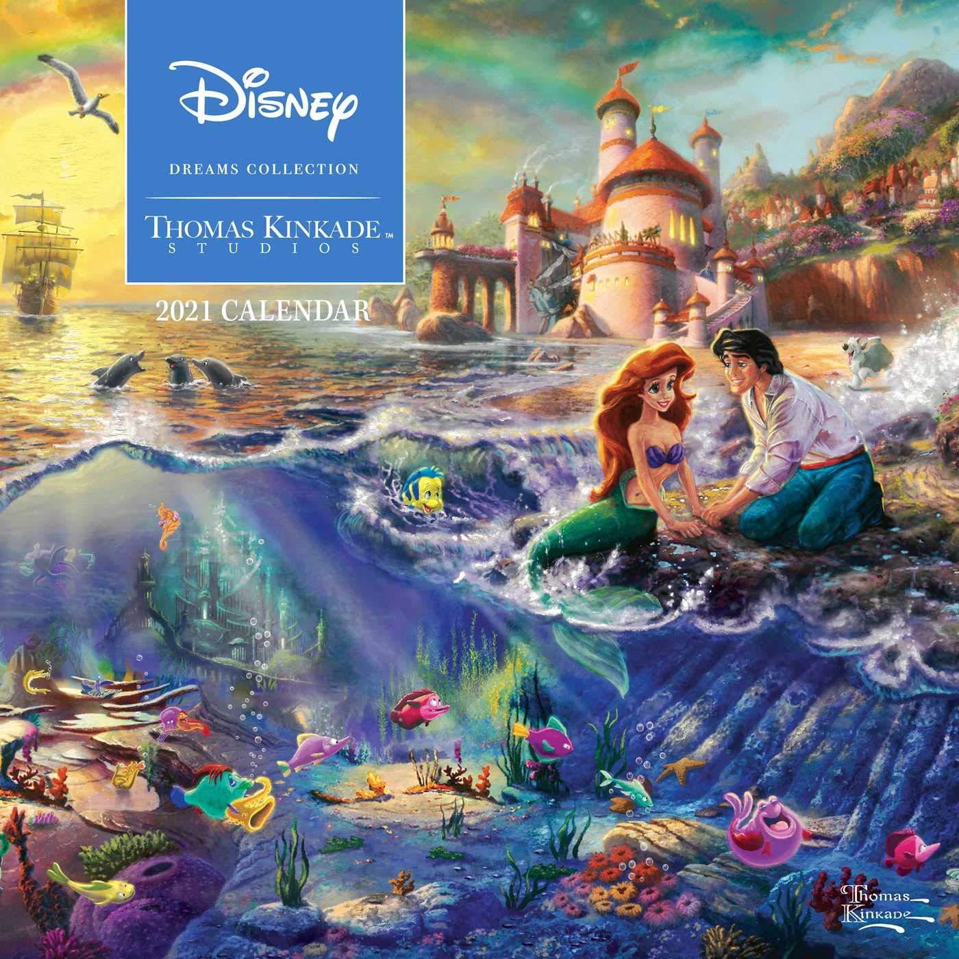 Image for Disney Dreams Collection by Thomas Kinkade Studios: 2021 Wall Calendar