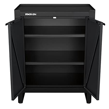 Amazon Com Stack On Ags Pc 2d Modular All Steel Assembled Garage