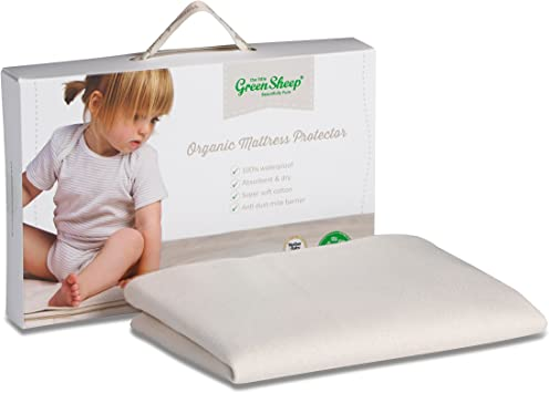 The Little Green Sheep Organic Cotton Moses Basket Fitted Sheet