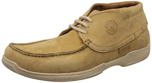 Woodland Men's Leather Espadrille Flats Men's Sneakers at amazon
