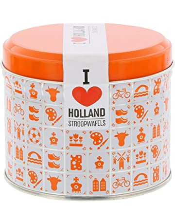 Daelmans Stroopwafels in Orange Tin